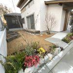 春が楽しみになるポタジェガーデン(兵庫県 T様邸)